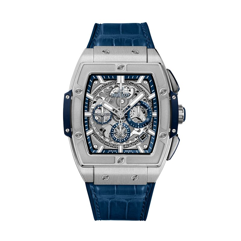 641.NX.7170.LR | Hublot Spirit of Big Bang Titanium Blue - Hublot - Webshop