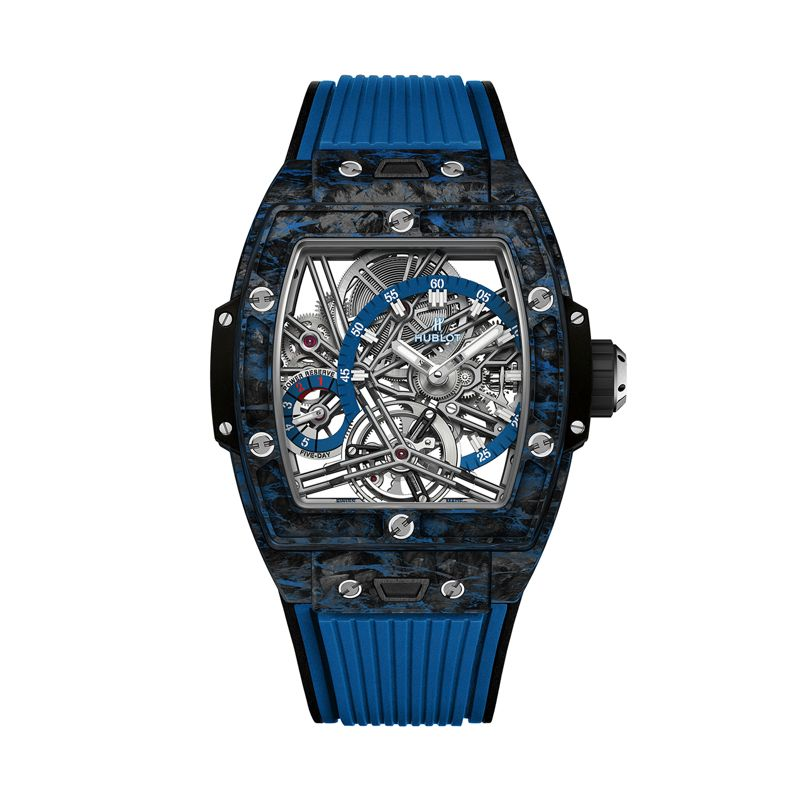 Hublot Spirit of Big Bang Tourbillon Carbon Blue - Webshop