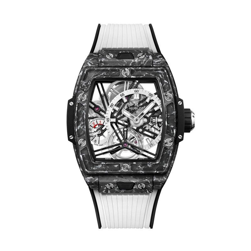 Hublot Spirit of Big Bang Tourbillon 5 Day Power Reserve Carbon White - Webshop