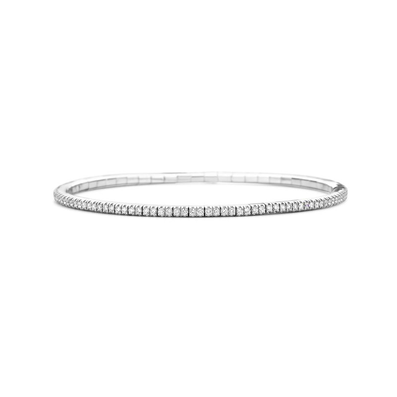 Tennis bracelet White Gold White Diamonds T1 - Jewelry - Webshop