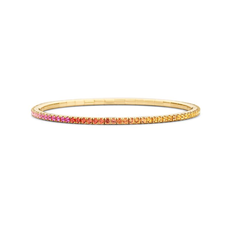 Tennis bracelet Yellow Gold