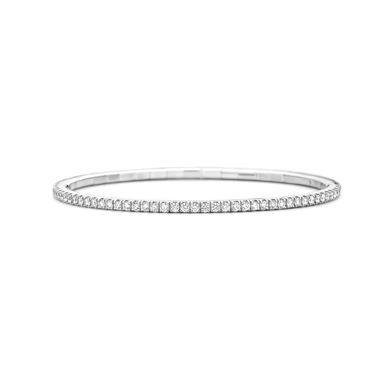 Tennis bracelet White Gold White Diamonds T2 - Jewelry - Webshop