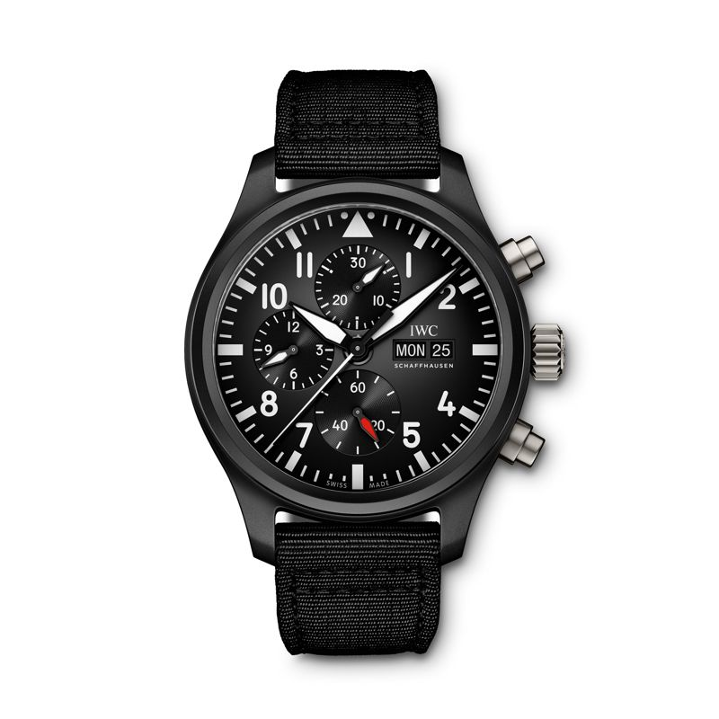 IW389101 | IWC Pilot's Watch Chronograph Top Gun - IWC SIHH 2019 - Webshop