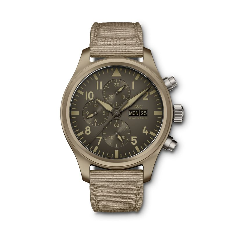 IW389103 | IWC Pilot's Watch Chronograph Top Gun Edition 'Mojave Desert' - Webshop