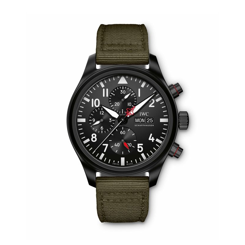 IWC Pilot's Watch Chronograph Top Gun Edition