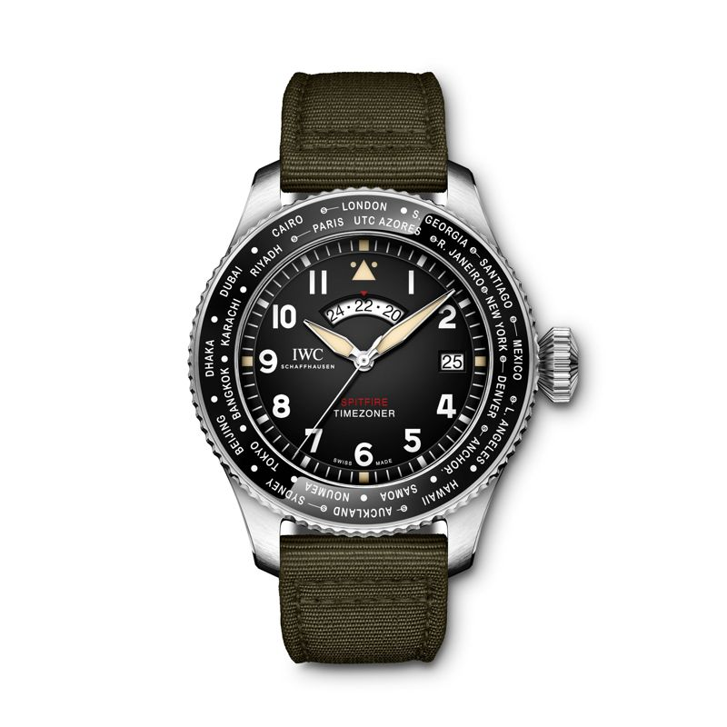 IW395501 | IWC Pilot's Watch Timezoner Spitfire Edition The Longest Flight - Webshop