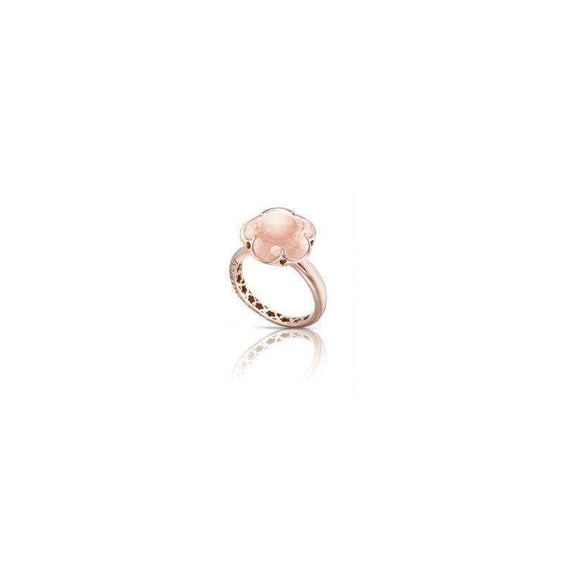 15053R | Pasquale Bruni Bon Ton ring pink gold and rose quartz - Webshop