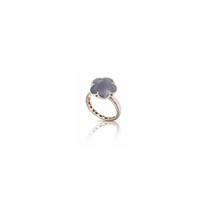 15074R | Pasquale Bruni Bon Ton ring pink gold and chalcedony - Webshop