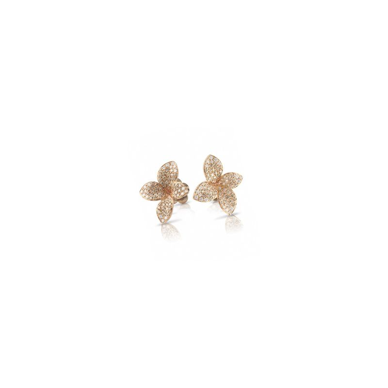 15371R | Pasquale Bruni Petit Garden earrings pink gold (small) - Webshop