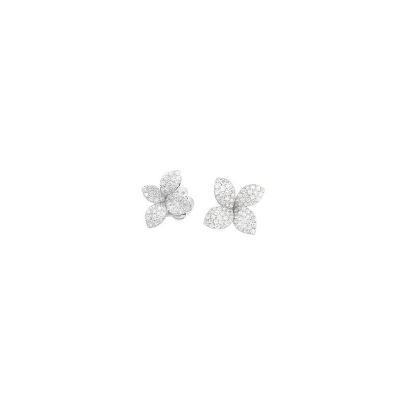 15384B | Pasquale Bruni Petit Garden earrings white gold (small) - Webshop