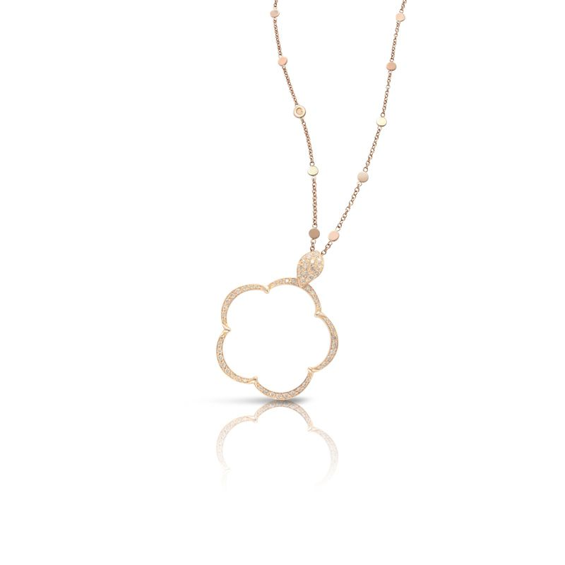 15636R | Pasquale Bruni Ton Joli necklace pink gold 24mm - Webshop
