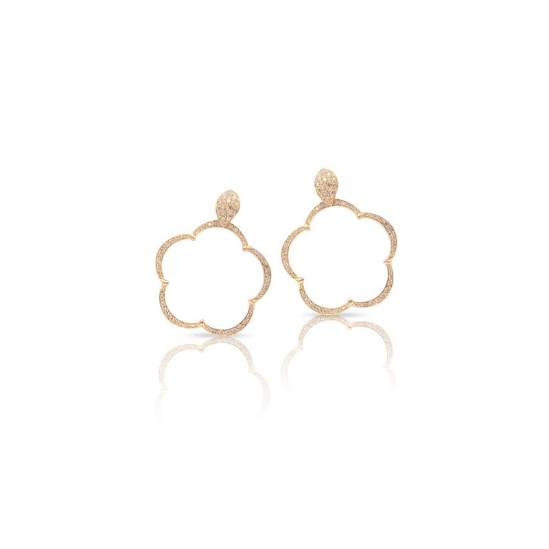 15641R | Pasquale Bruni Ton Joli earrings pink gold 24mm - Webshop