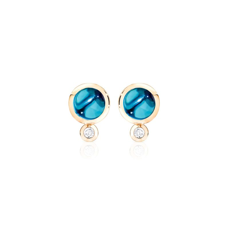 E-Bou-LoTo-RG | Tamara Comolli Bouton earrings London Topaz