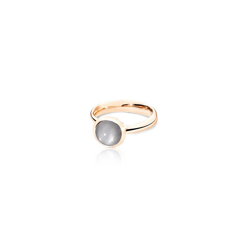 Tamara Comolli Bouton Ring small Moonstone Grey RG - Webshop