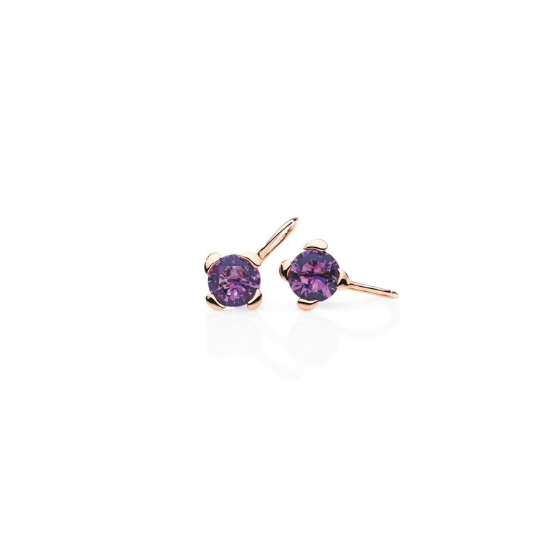 E-Dr-TCH-Amethyst-RG | Tamara Comolli Drop Touch earrings Amethyst - Jewelry - Webshop