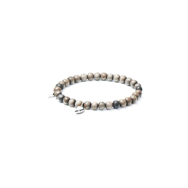 Tamara Comolli bracelet India Grey Wood WG