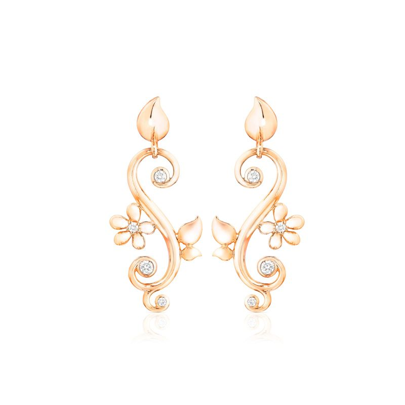 E-IND-DreamClassic-RG | Tamara Comolli Bouton earrings India