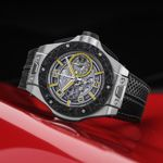 Hublot Big Bang Scuderia Ferrari 90th Anniversary Platinum (1)